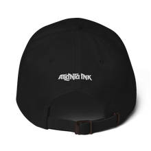 Load image into Gallery viewer, Atlanta Ink Whitle Logo Dad hat