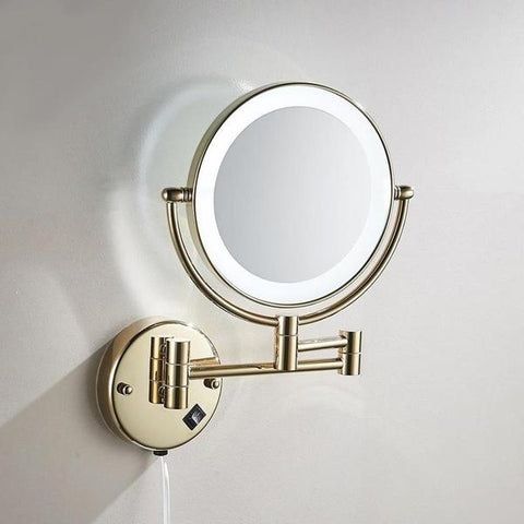 collection miroir grossissant lumineux
