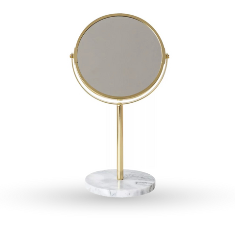 Miroir Grossissant x3 <br> Gold