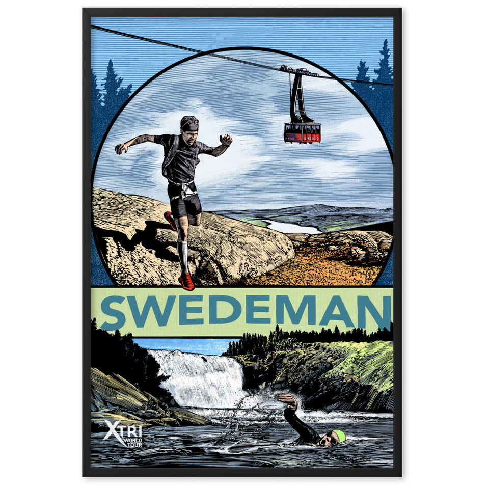 SWEDEMAN Framed Poster