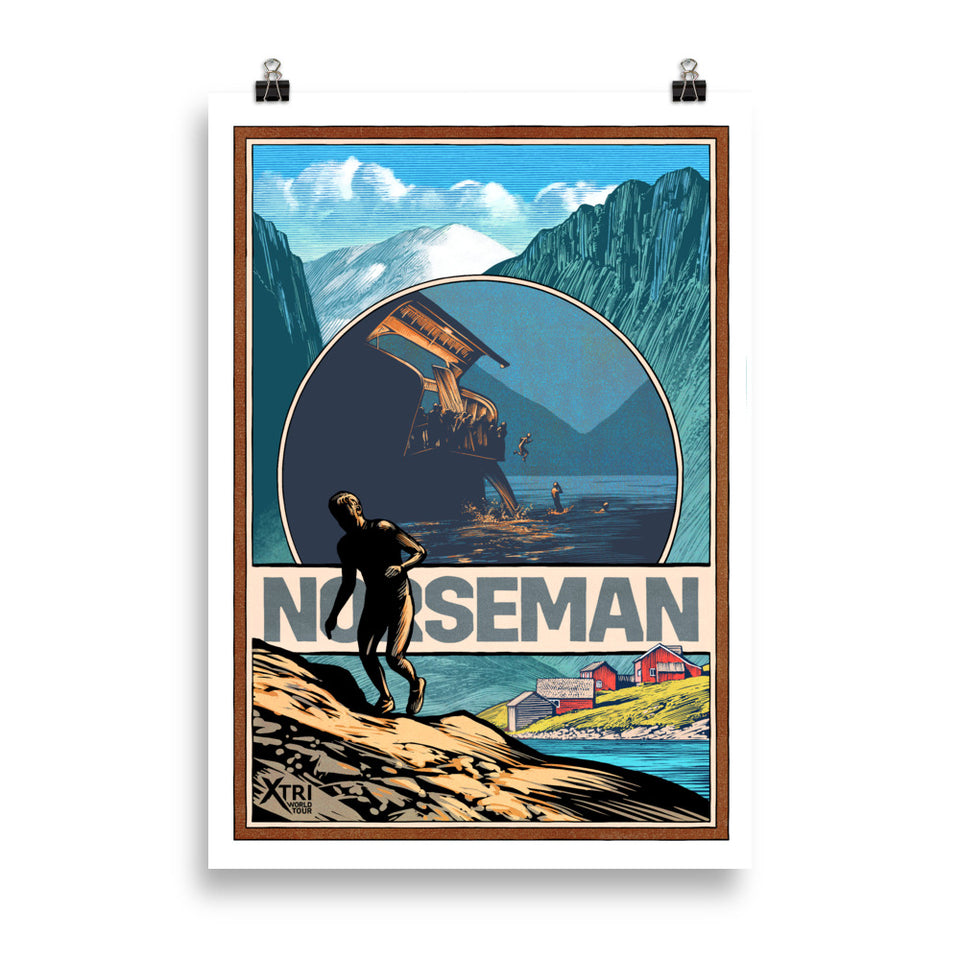 NORSEMAN Wall Poster (with border)