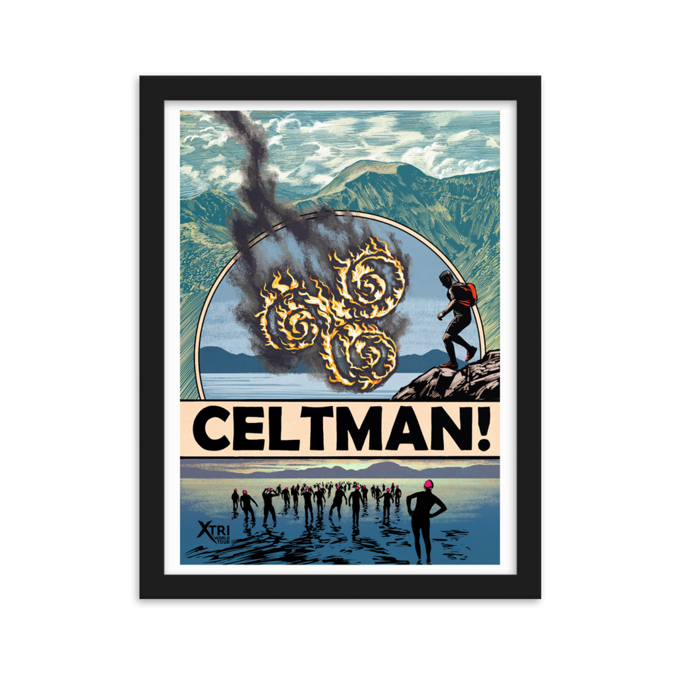 CELTMAN Framed Poster