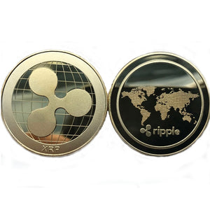 Gold Plated Ripple XRP Coin