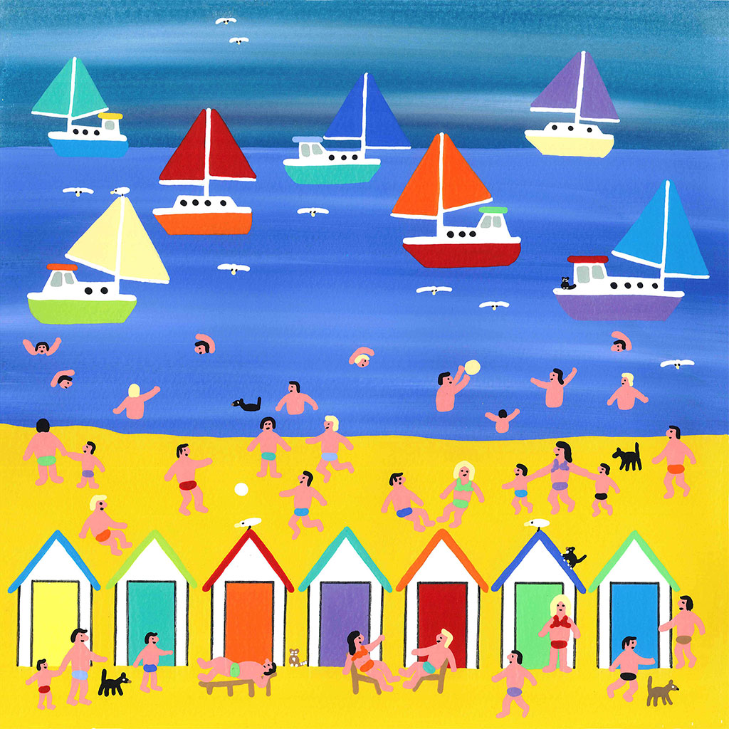 GB008 Beach Huts