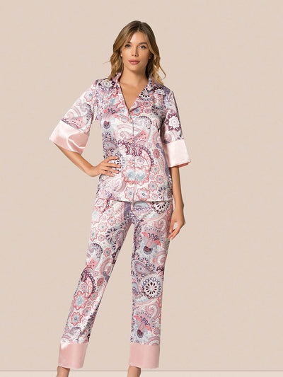 MG-012-PJ set - Sleep wear - Flourish Nightwear & Undergarments