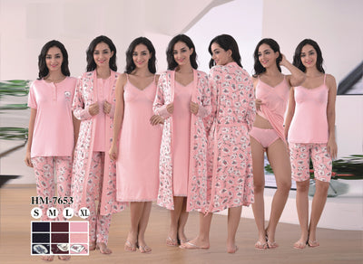 Hm-7653 - loungewear - Flourish Nightwear & Undergarments
