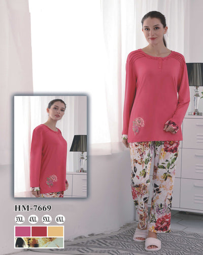 Hm-7669 - loungewear - Flourish Nightwear & Undergarments