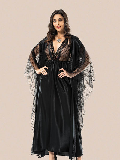 Mg-2094 Gown Set - Sleep wear - Flourish Nightwear & Undergarments