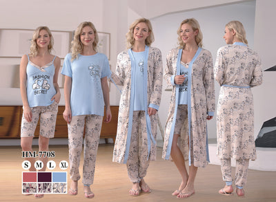 Hm-7708 - loungewear - Flourish Nightwear & Undergarments