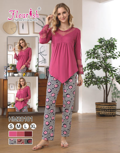 HM-20101 - loungewear - Flourish Nightwear & Undergarments