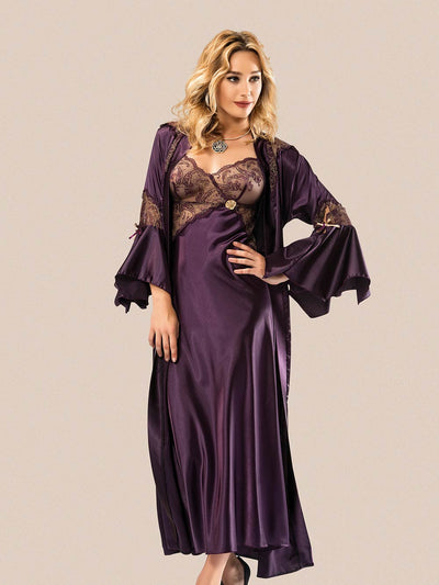 Mg-3115 Gown Set - Sleep wear - Flourish Nightwear & Undergarments