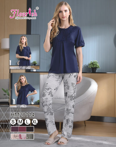 HM-20114-5 - loungewear - Flourish Nightwear & Undergarments