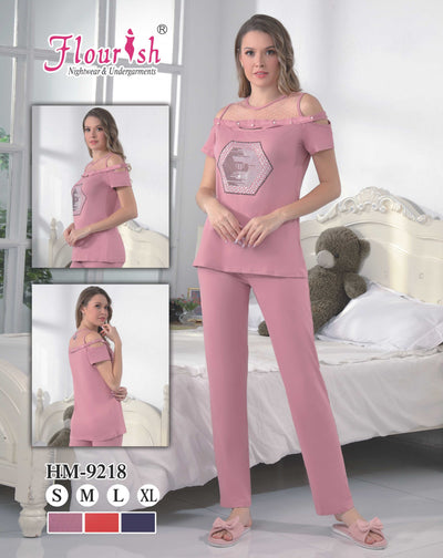 Hm-9218 - loungewear - Flourish Nightwear & Undergarments