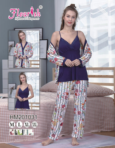 HM-201031-PJ set - Sleep wear - Flourish Nightwear & Undergarments