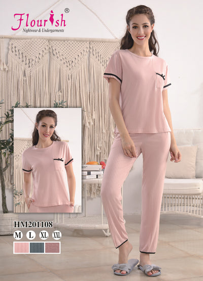 HM-201108 - loungewear - Flourish Nightwear & Undergarments