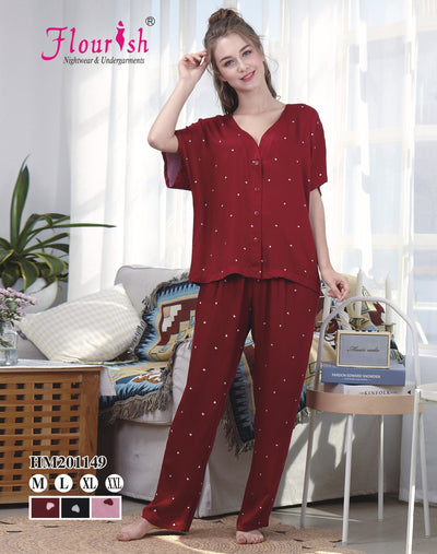 HM-201149 - loungewear - Flourish Nightwear & Undergarments