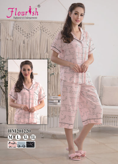 HM-201220 - loungewear - Flourish Nightwear & Undergarments