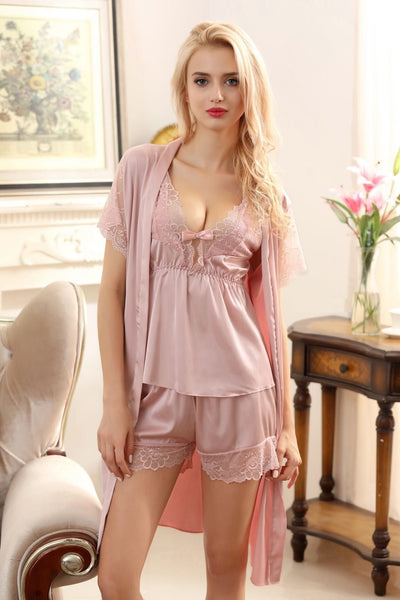 BD-7602 Gown Set - Sleep wear - Flourish Nightwear & Undergarments