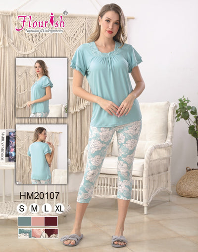 HM-20107 - loungewear - Flourish Nightwear & Undergarments