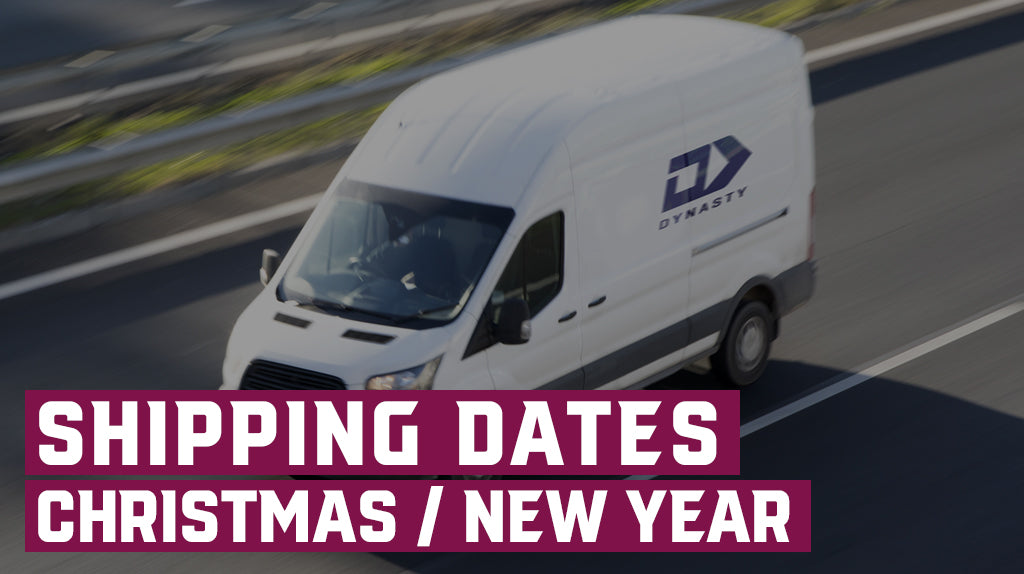 Reduced Shipping Dates Christmas / New Year