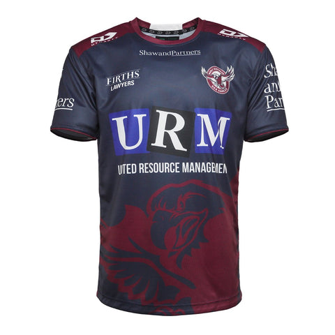 2021 Sea Eagles Mens Training Tee Alternate