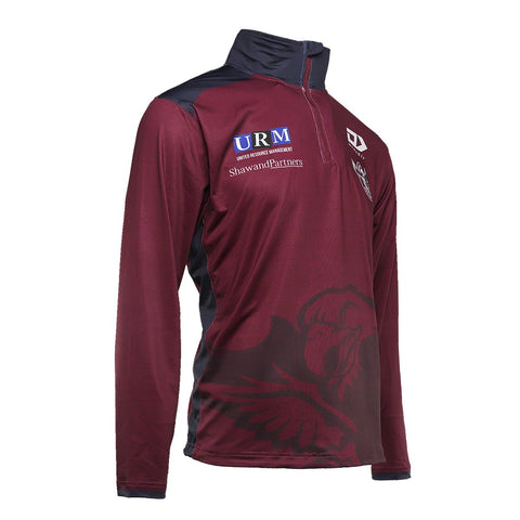 2021 Sea Eagles 1/4 Zip Long Sleeve Training Tee