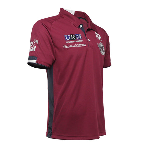 2021 Sea Eagles Mens Media Polo
