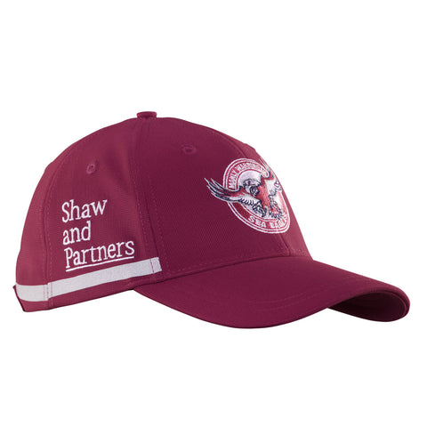 Sea Eagles Curved Peak Media Cap