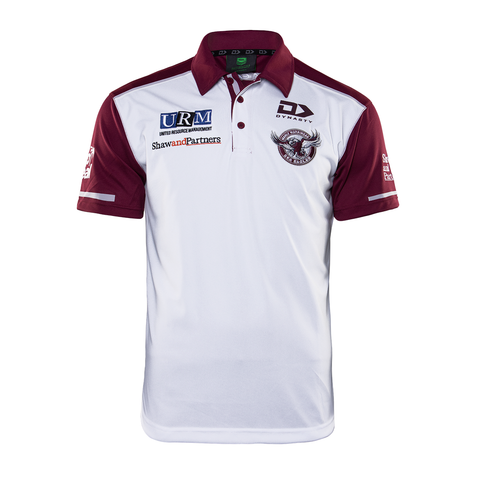 2020 Sea Eagles Mens Media Polo Alternate