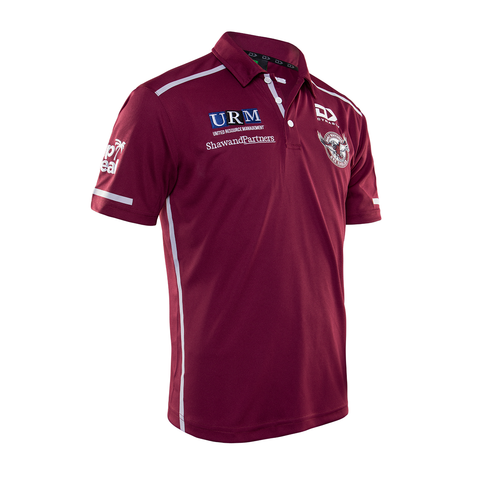 2020 Sea Eagles Mens Media Polo