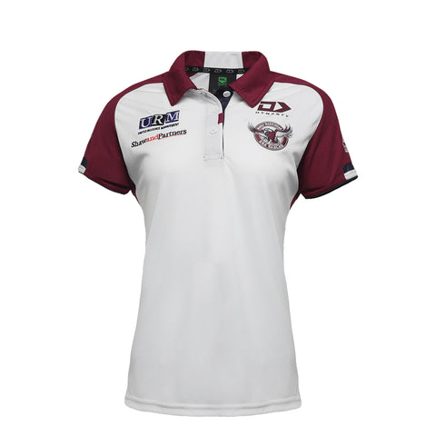 2021 Sea Eagles Ladies Media Polo Alternate