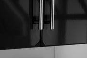 High gloss Winwick doors in black