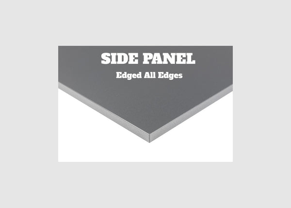 End Panel, Edged All Sides