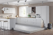 Modern kitchen with classic shaker style doors and drawers