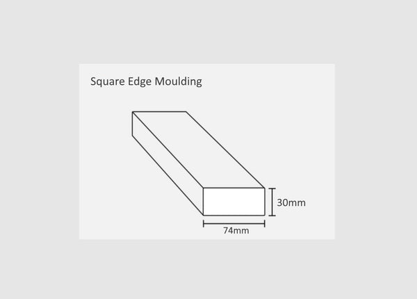 Square Edged Moulding