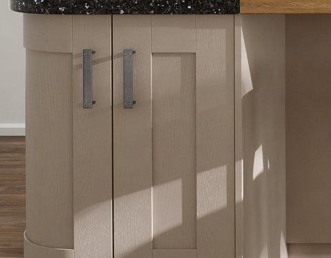 Shaker Stone Grey Grained Effect Standard Sizes