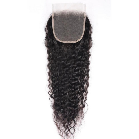 Raw Natural Curly 4*4 Closure
