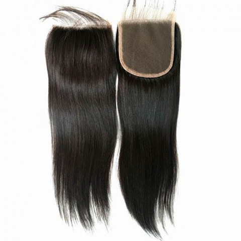 Raw Natural Straight 4*4 Closure