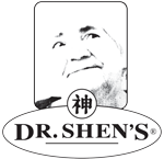 Dr. Shen's logo: older woman's face