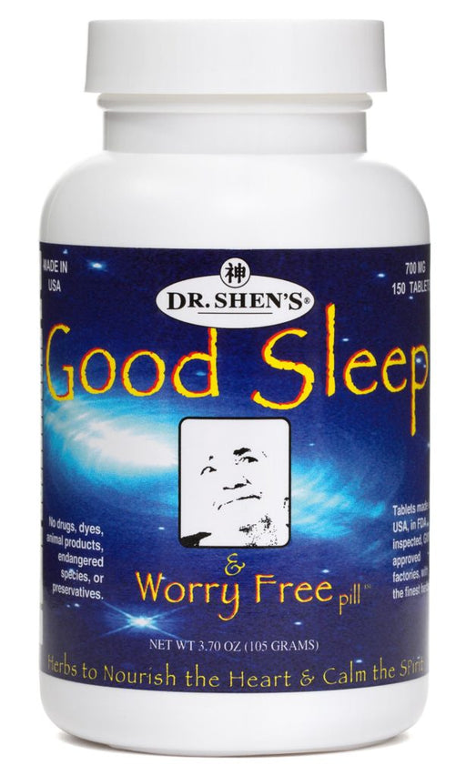 bottle of Dr. Shen's Good Sleep & Worry Free pill