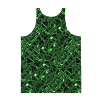 Circuit Board Unisex Tank Top