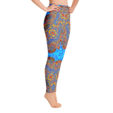 Ice & Fire Balanced Polarity Mandala Yoga Leggings