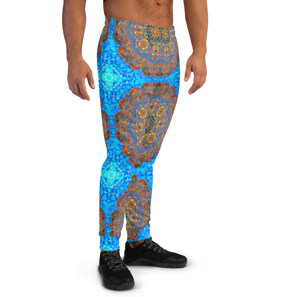 Fire & Ice Men's Mandala Joggers