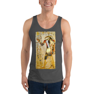 Ancient Egyptian God Thoth Golden Hieroglyphic Premium Tank Top