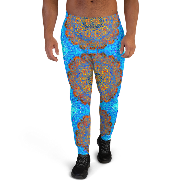 Ice & Fire Men's Mandala Joggers