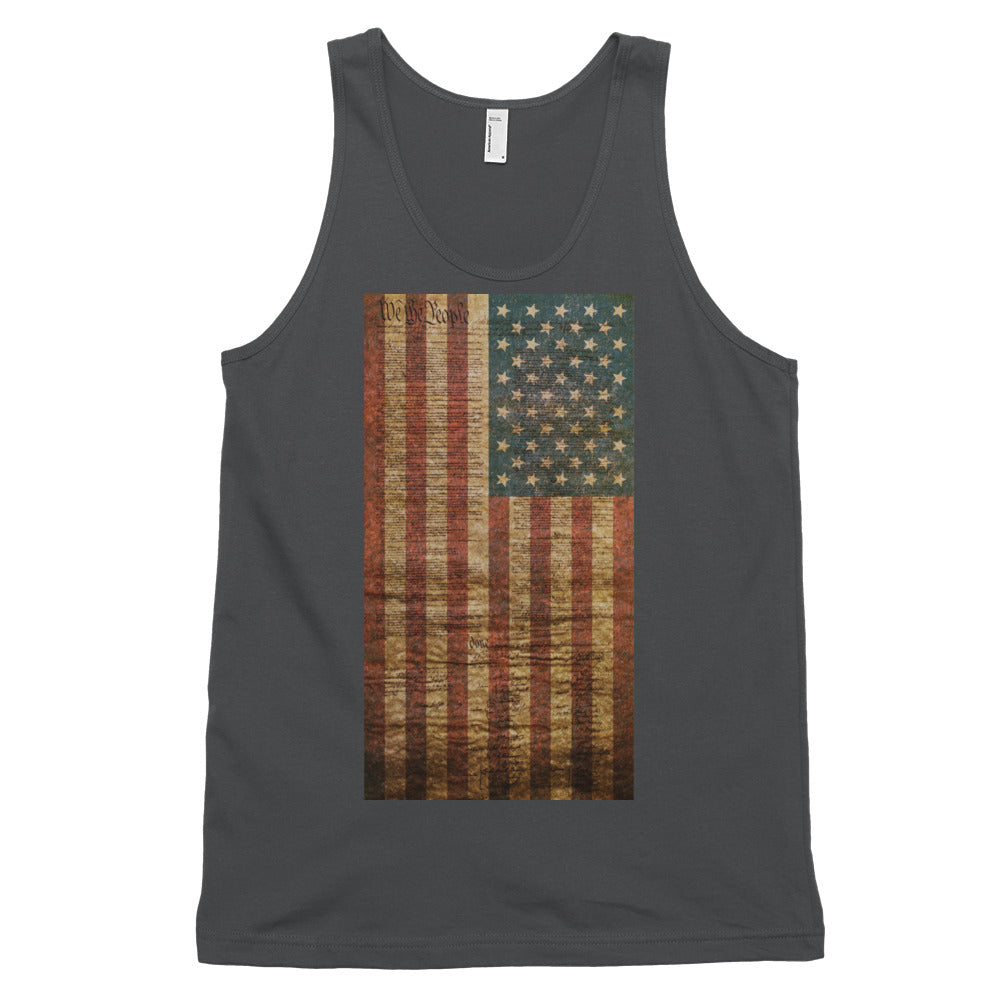 The Constitution Liberty American Patriot Unisex Tank Top
