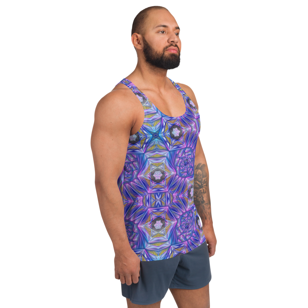 Graphic Unisex Fractal Tank Top