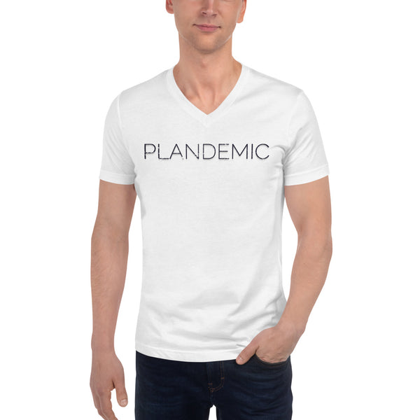 Short Sleeve V-Neck Plandemic T-Shirt