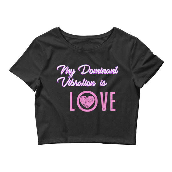 Women's Love Vibe Premium Crop Top