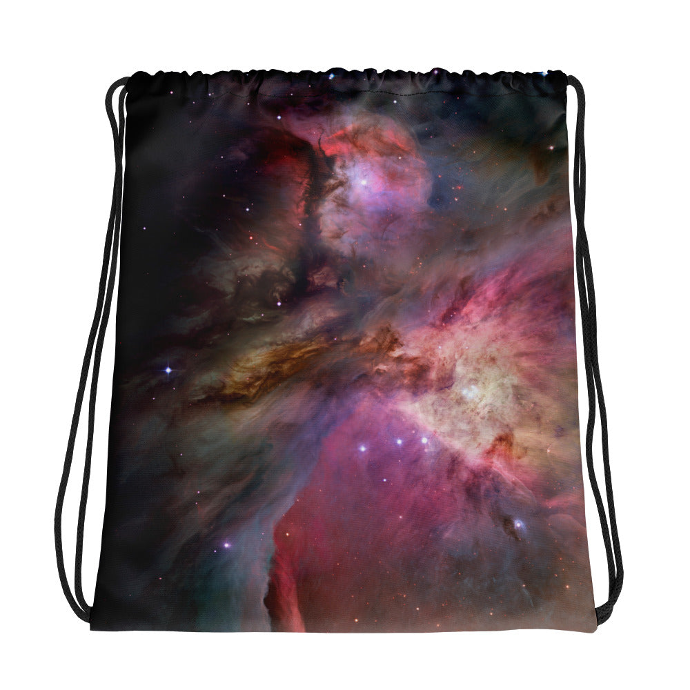 Orion Nebula Starseed Drawstring Bag